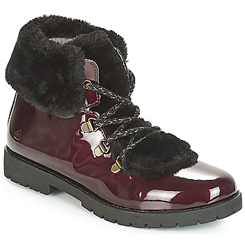 Citrouille et Compagnie JUTTER girls's Children's Mid Boots in Red. Sizes available:4