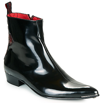 Jeffery-West ADAMANT men's Mid Boots in Black. Sizes available:7,8,9,10,11,12