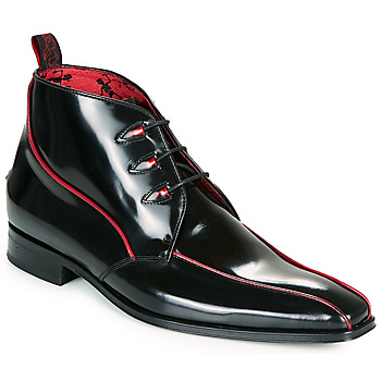 Jeffery-West SCARFACE men's Mid Boots in Black. Sizes available:7,8,9,10,11,12